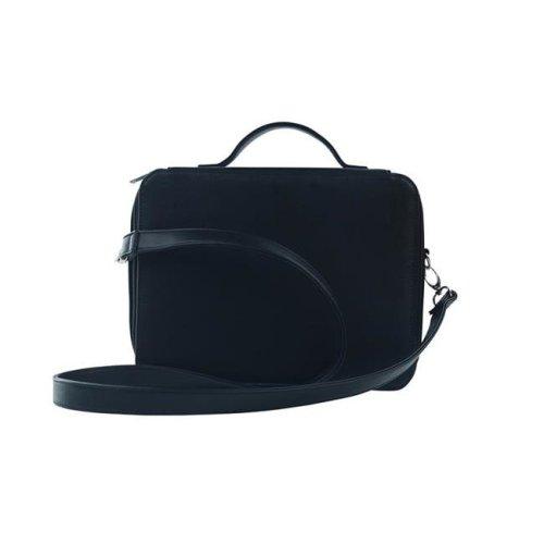 Picnic Gift 7128-BK Cosmopolitan Insulated Adjustable Make Up Travel Organizer, Black Birmingham