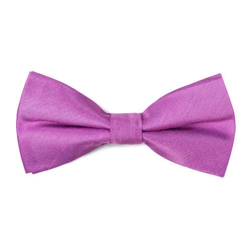 Sheer Lilac Shantung Bow Tie #AB-BB1005/10