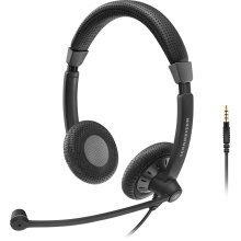 Sennheiser SC 75 Binaural Head-band Black headset