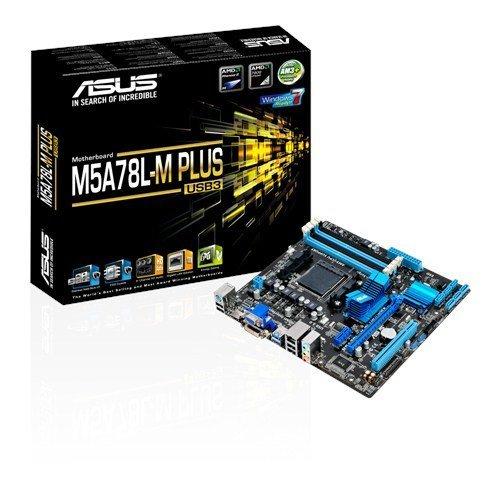 Asus M5a78l-m Plus/usb3 Amd 760g Socket Am3+ Micro Atx Motherboard