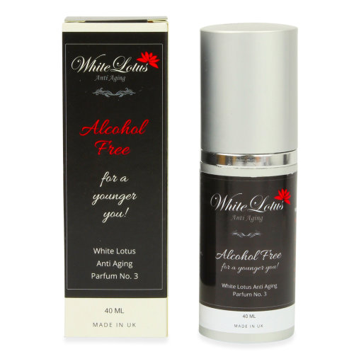 White Lotus Alcohol Free Perfume No3 For Women Anti Aging Parfum