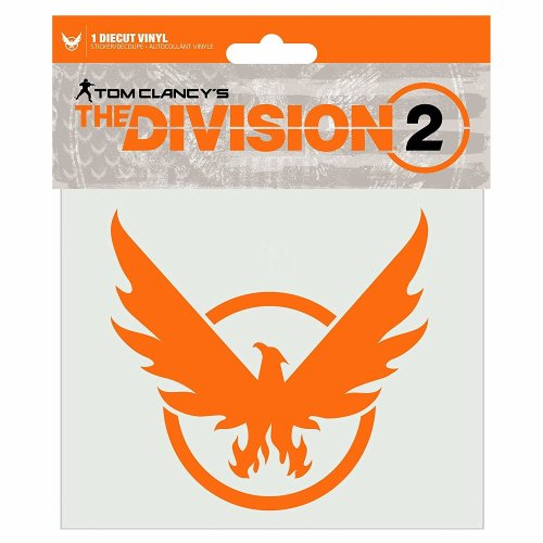 Sticker - The Division 2 - Phoenix Orange New j9687