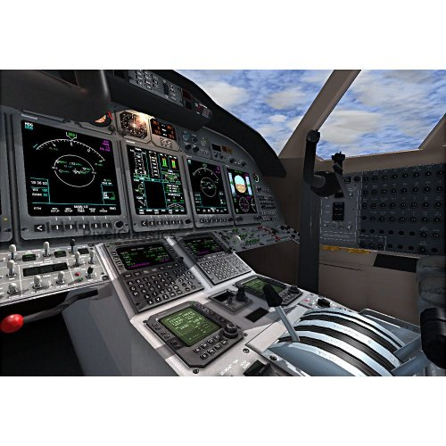 Learn To Fly Pilots Training Flight Simulator X DELUXE Software For Microsoft Windows PC