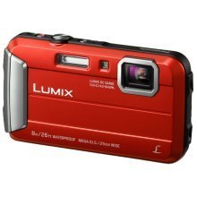 "Panasonic Lumix DMC-FT30 16.1MP 1/2.33"" CCD 4608 x 3456pixels Red"