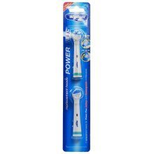 2pc Wisdom Power Plus Replacement Toothbrush Heads