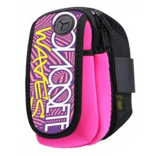 Waterproof Outdoor Sports Armband Cellphone Bag-English Alphabet Printing
