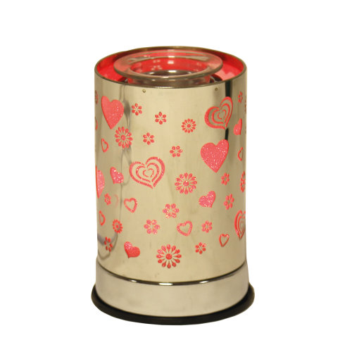 Aroma Cylinder Electric Wax Burner, Heart