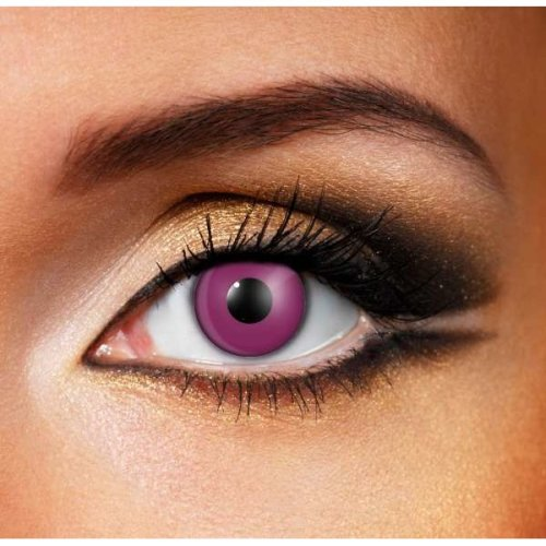 Violet Contact Lenses (Pair) - Halloween Contact Lenses