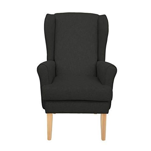 MAWCARE Highland Orthopaedic High Seat Chair - 21 x 21 Inches [Height x Width] in High Graphite (lc21-Highland_h)