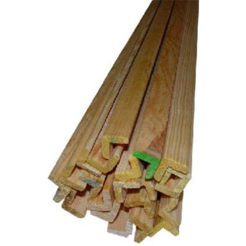 00170-20096C1 8 ft. Outside Corner Solid Pine Molding - Pack of 10