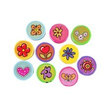 20Pcs Cute Stamp Ink Pad Adorable Stamps Personalized Stamps