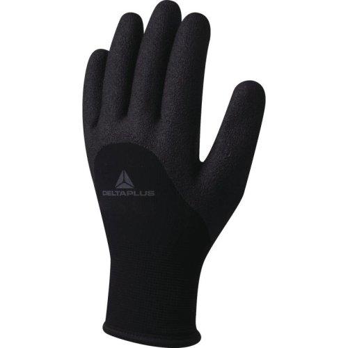 Delta Plus HERCULE VV750 Nitrile Foam Lined Safety Gloves Black (Various Sizes)