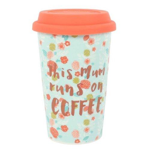 This Mum Runs on Coffee Travel Mug