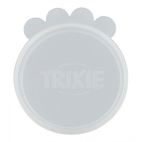 "Trixie 2 silicone Lids For Box 3 "" - Can Lid Silicone Various Sizes New Dog Cat -  trixie can lid silicone various sizes new dog cat"