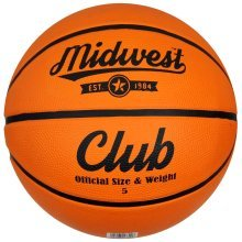 Size 5 Tan Midwest Club Basketball -  midwest club basketball tan size 5