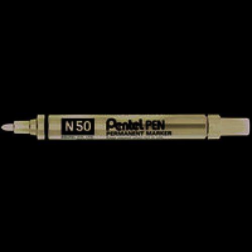 Pentel N 50 Bullet tip Black 12pc(s) permanent marker