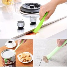 Kitchen Stains Cleaning Brush House Scraping Stove Dirt Tool Opener