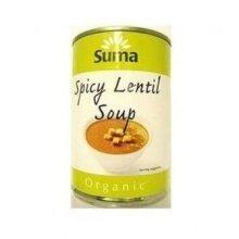 Suma - Org Spicy Lentil Soup 400g