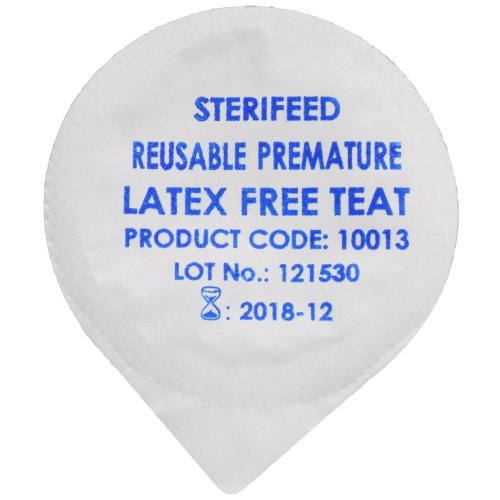 Sterifeed Latex Free 'Reuseable' Sterile Baby Teat, Premature, Pack of 10