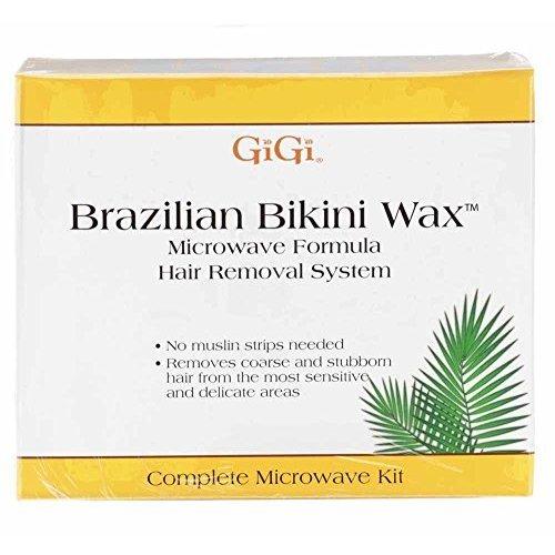 Gigi Brazilian Bikini Wax Microwave Kit, 16 Ounce