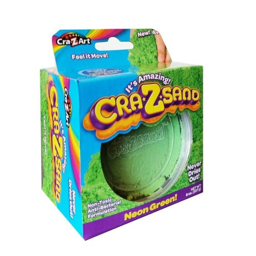 Cra-z-sand 8oz Refill Pack - Neon Green