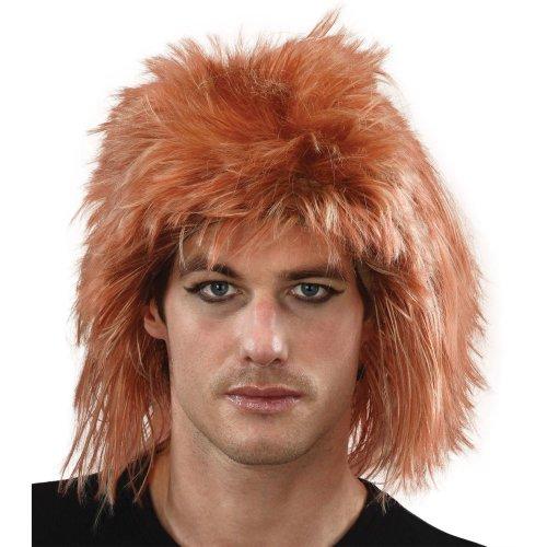 Ginger Men's Shaggy Mullet Wig