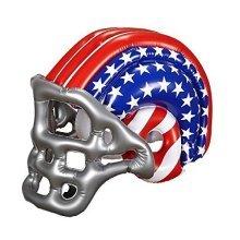 Inflatable Football Usa Helmet - American Fancy Dress Party Prop Sport Stars New -  american football helmet inflatable fancy dress party prop sport