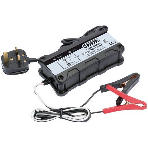 Draper 38253 12V Battery Charger/Maintainer