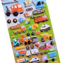 [Multicolor]5 Sheets Funny Cartoon Stickers Children Decorative Toys