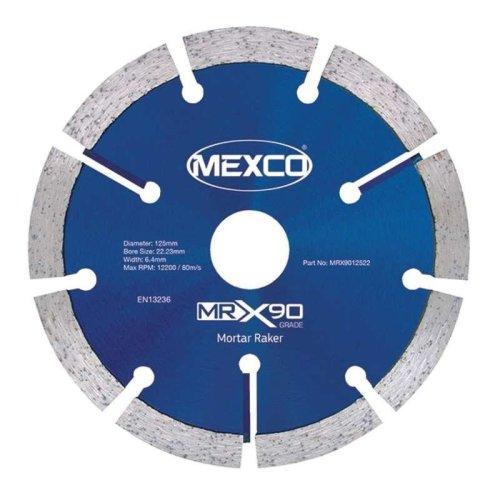 Mexco MRX90 115mm Mortar Raking Diamond Blade