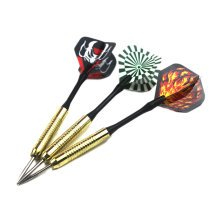 Set of 3 Refined Copper Tip Darts with Brass Barrel (19 Grams)