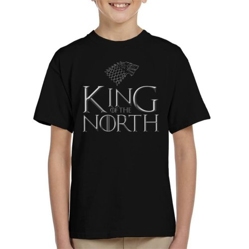 Game Of Thrones King Of The North Stark Sigil Kid's T-Shirt