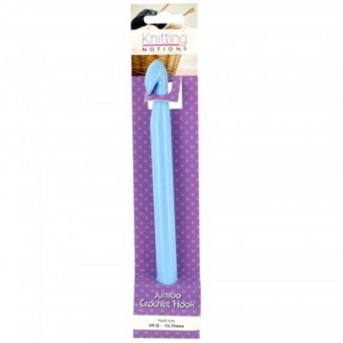 Kole Imports OS353-48 Jumbo Plastic Crochet Hook, 48 Piece