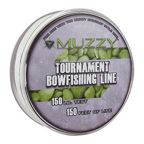 Muzzy 1076 Spool Size 150 Tournament Bowfishing Line 150 ft