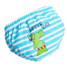 Baby Toddler Reusable Swim Diaper Adjustable Absorbent Fits Diapers, A04