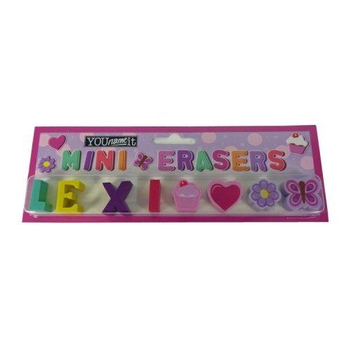 Childrens Mini Erasers - Lexi