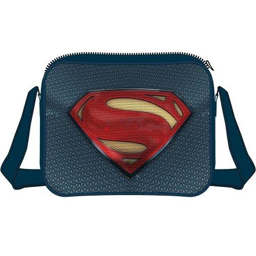 DC COMICS Batman vs Superman: Dawn of Justice Superman Logo Messenger Bag