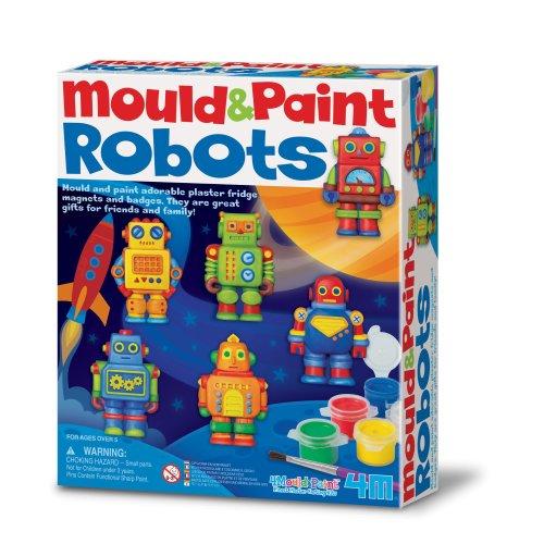 Robots Mould & Paint Kit