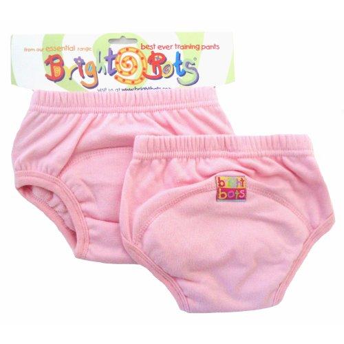 Bright Bots 2pk Washable Training Pants P/Pink