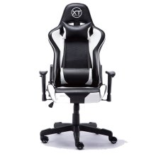 ESports Black & White Gaming Chair | Black & White Racing Chair