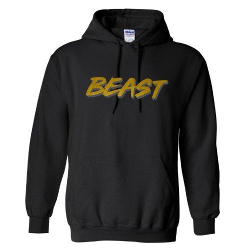 Mr Beast Beast Gold Logo Kids Hoodie