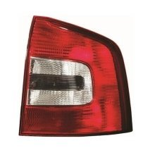 Skoda Octavia Mk2 4/2009-> Rear Tail Light Drivers Side O/s