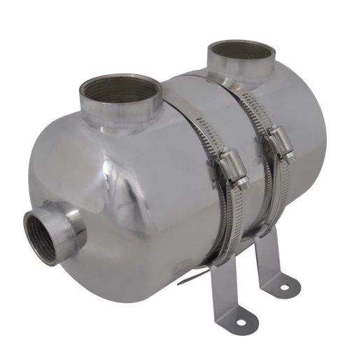vidaXL Swimming Pool Heat Exchanger Spa Sauna Water Boiler Heater Machine