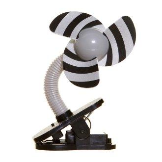 Dreambaby Stroller Fan - Black/Grey