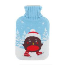 Warm Cute Hot-Water Bottle Water Bag Water Injection Handwarmer Pocket Cozy Comfort,K