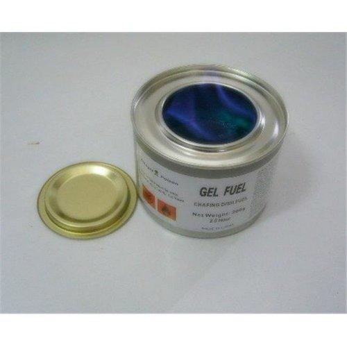 Food Service 91634 2.5 Hour Blue Magic Meth Gel Fuel