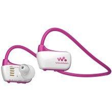 Sony Walkman NWZW273S 4 GB Waterproof Sports MP3 Player (Pink) with Swimming Earbuds