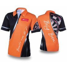 XQmax Darts BvdP Replica Match Shirt Orange Size XXXL QD9200270