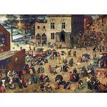 Jigsaw Puzzle - 1200 Pieces - Art - Wooden - Bruegel : Children's Games