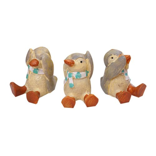 Set of 3 Creative Animal Decoration Decorative Accessories ,1.6''